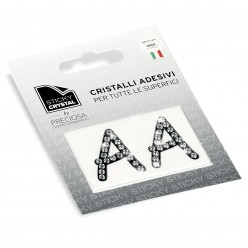 STICKY CRYSTAL® COLLECTION LETTERA A