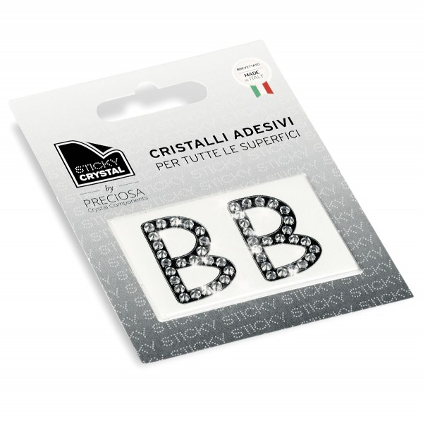 STICKY CRYSTAL® COLLECTION LETTERA B