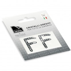 STICKY CRYSTAL COLLECTION LETTERA F miglior prezzo