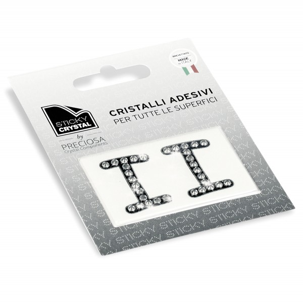 STICKY CRYSTAL® COLLECTION LETTERA I