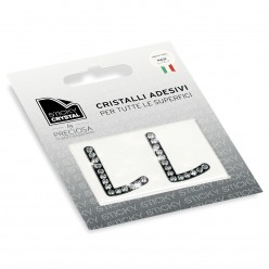 STICKY CRYSTAL COLLECTION LETTERA L