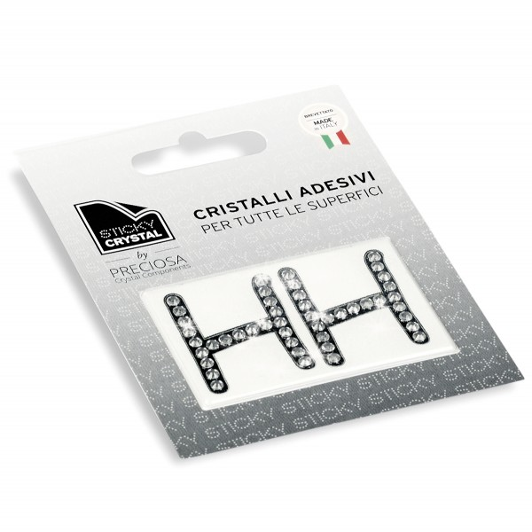 STICKY CRYSTAL® COLLECTION LETTERA H