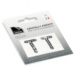 STICKY CRYSTAL COLLECTION LETTERA T miglior prezzo