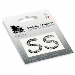 STICKY CRYSTAL® COLLECTION LETTERA S