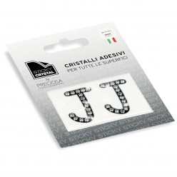 STICKY CRYSTAL® COLLECTION LETTERA J