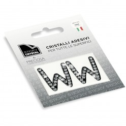 STICKY CRYSTAL COLLECTION LETTERA W miglior prezzo