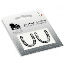 STICKY CRYSTAL® COLLECTION LETTERA U