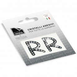 STICKY CRYSTAL® COLLECTION LETTERA R