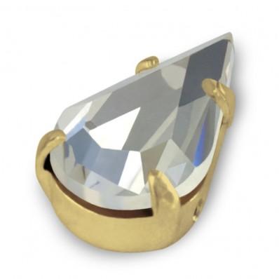DROP MM13x8 CRYSTAL-gold-5pcs sale online, best price