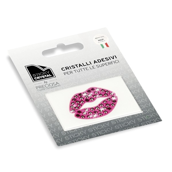 STICKY CRYSTAL® COLLECTION ARTDESIGN KISS e BOCCA