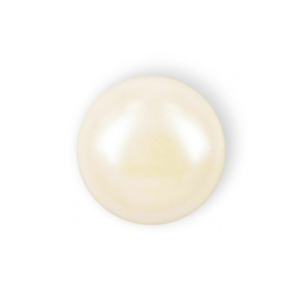 MEZZA PERLA TONDA MM6 IVORY HOT FIX-144PZ