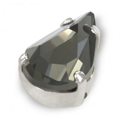 GOCCIA MM13x8 BLACK DIAMOND-ARGENTO-5PZ