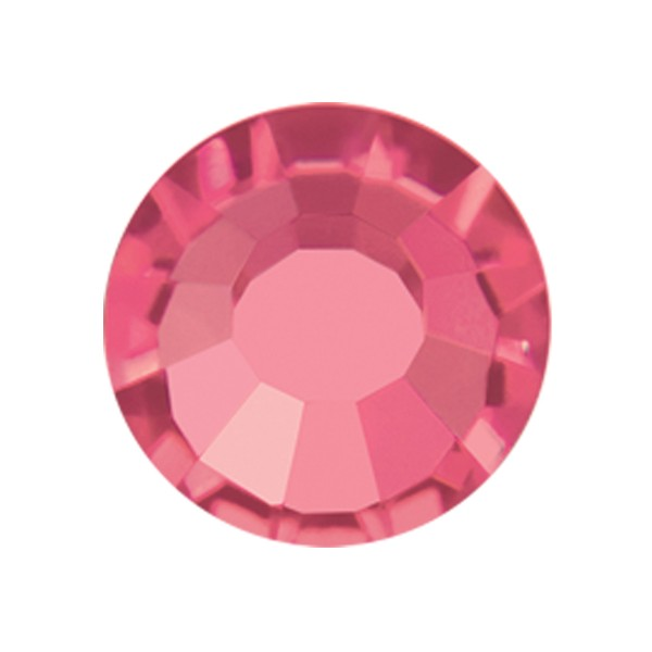 PRECIOSA THERMOADHESIVE SS30 (6, 5 mm) INDIAN PINK-Pack of 144