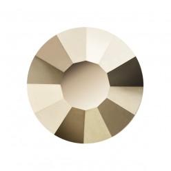 PRECIOSA THERMOADHESIVE SS20 (5 mm) STARLIGHT GOLD-Pack of 144
