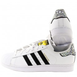 Adidas Super Star Rhinestones Black 3 Stripes sale online, best