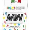 Light Patch Lettere MM Sticker Cristalli Nero Cry