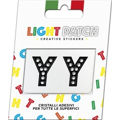 Light Patch Black Crystal Sticker Letters YY Cry sale online