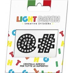 Light Patch Symbols Sticker Cristaux Black Cry Meilleur Prix