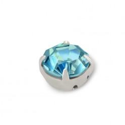 RHINESTONE MAXIMA SS20 AQUAMARINE-silver-40PZ sale online, best