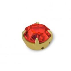 RHINESTONE MAXIMA SS20 LIGHT SIAM-gold-40PZ