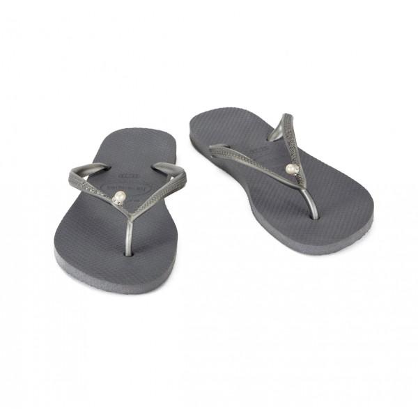 Havaianas Thongs Silver Slim Pearl sale online