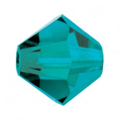 BICONE BLUE ZIRCON PRECIOSA MM4-Pack of 144 sale online, best