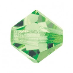 PRECIOSA BICONES MM4 PERIDOT-Pack of 144 sale online, best price