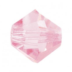 PRECIOSA BICONES MM4 PINK SAPPHIRE-Pack of 144