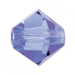 PRECIOSA BICONES MM4 TANZANITE-Pack of 144