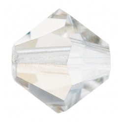 PRECIOSA BICONES MM4 ARGENT FLARE-Pack of 144