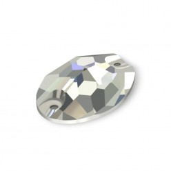 MM10X7 OVAL CRYSTAL-5pcs