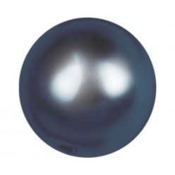 ROUND BEADS MM8 DARK BLUE-40PZ