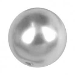 ROUND BEADS MM8 LIGHT GREY-40PZ sale online, best price