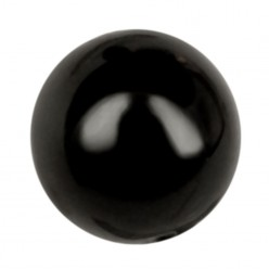ROUND BEADS MM8 BLACK-40PZ sale online, best price