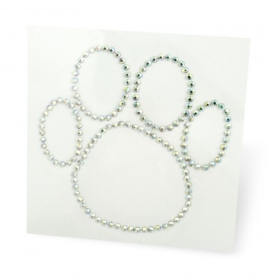 MAP HOT FIX RHINESTONE PAW sale online, best price