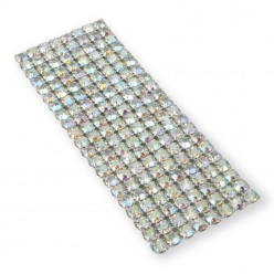 NETWORK CHAIN RHINESTONE MAXIMA SS19 (5 mm) CRYSTAL AB