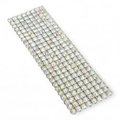 NETWORK CHAIN RHINESTONE MAXIMA SS15 (4 mm) CRYSTAL AB