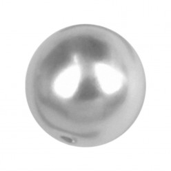 ROUND BEADS MM6 LIGHT GREY-40PZ sale online, best price