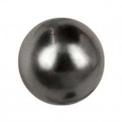 ROUND BEADS MM6 DARK GREY-40PZ sale online, best price
