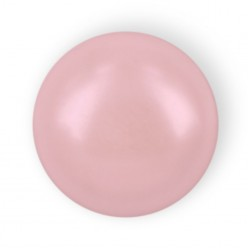 MEZZA PERLA TONDA MM6 LIGHT PINK HOT FIX-144PZ