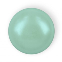 MEZZA PERLA TONDA MM6 LIGHT GREEN HOT FIX-144PZ