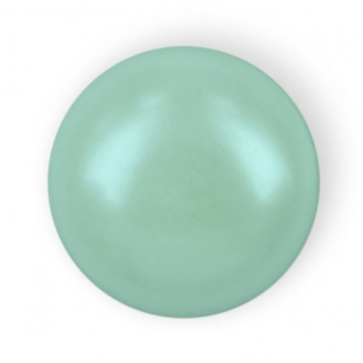HALF ROUND BEADS MM6 LIGHT GREEN HOT FIX-Pack of 144 sale