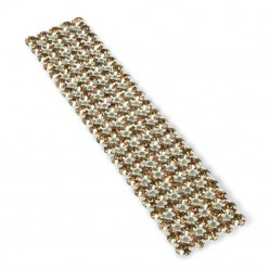 NETWORK CHAIN RHINESTONE MAXIMA SS19 (5 mm) SMOKED
