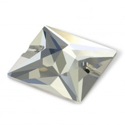 SQUARE CRYSTAL MM22X22-3pcs