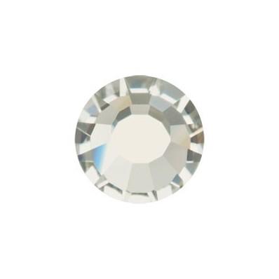 PRECIOSA THERMOADHESIVE SS30 (6, 5 mm) BLACK DIAMOND-Pack of