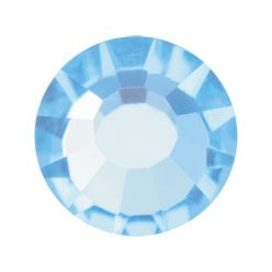 PRECIOSA THERMOADHESIVE SS30 (6, 5 mm) AQUAMARINE-Pack of 144