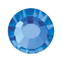 PRECIOSA THERMOADHESIVE SS30 (6, 5 mm) SAPPHIRE-Pack of 144