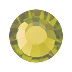 STRASS PRECIOSA THERMO-ADHÉSIFS SS30 (6.5MM) OLIVINE-144PZ