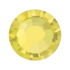 PRECIOSA THERMOADHESIVE SS30 (6, 5 mm) CITRINE-Pack of 144