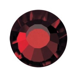 PRECIOSA THERMOADHESIVE SS30 (6, 5 mm) GARNET-Pack of 144